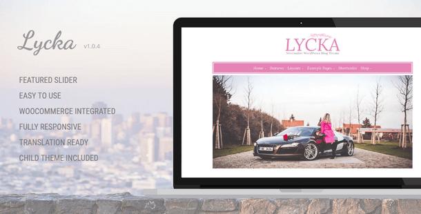 Lycka - Minimalist Responsive WordPress Theme