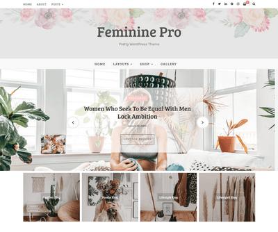 Marlin WordPress Theme