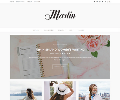Marlin WordPress Theme