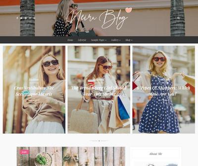 Kerli WordPress Theme