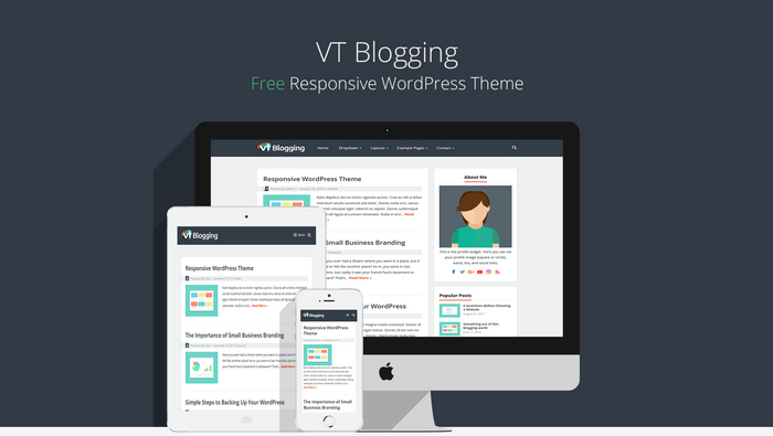 VT Blogging - Free Responsive WordPress Theme