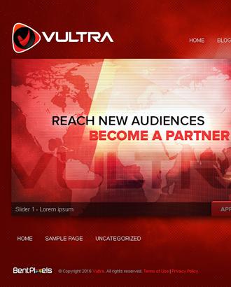 Vultra - WordPress Clone Theme