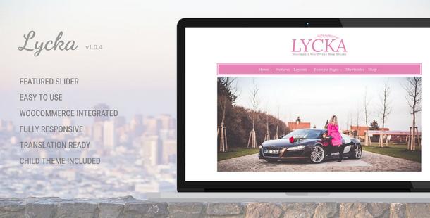 Lycka WordPress Theme