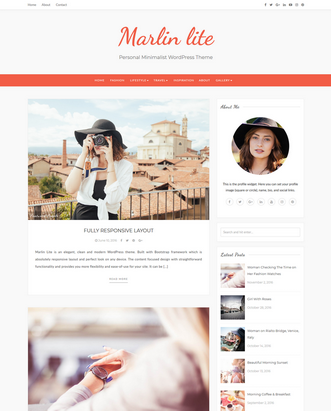 Marlin Lite WordPress Theme
