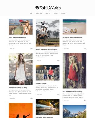 VT Ggrid Mag - Free Responsive WordPress Theme