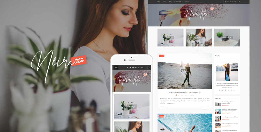 Neira Lite WordPress Theme