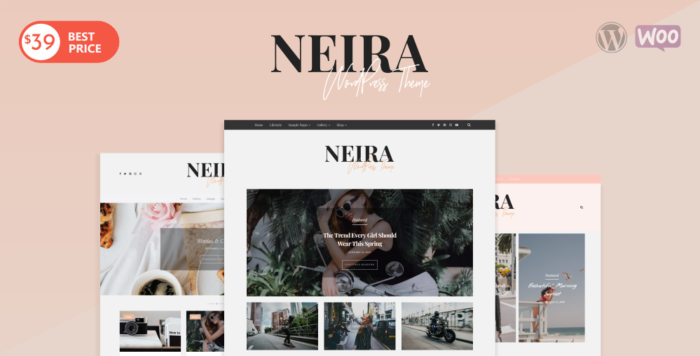 Neira WordPress Theme