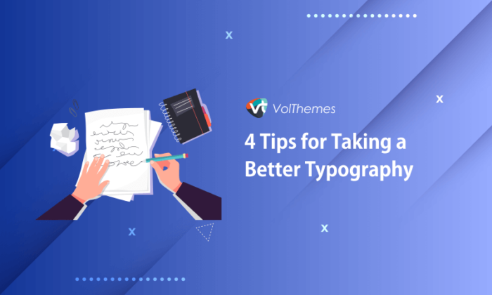 Tips for Taking a Better Typography