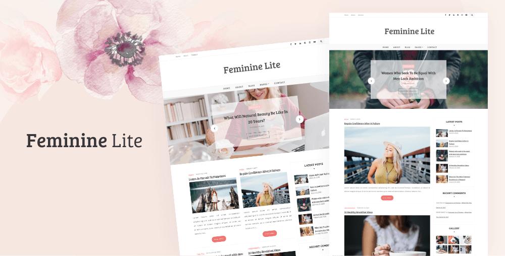 Feminine Lite WordPress Theme