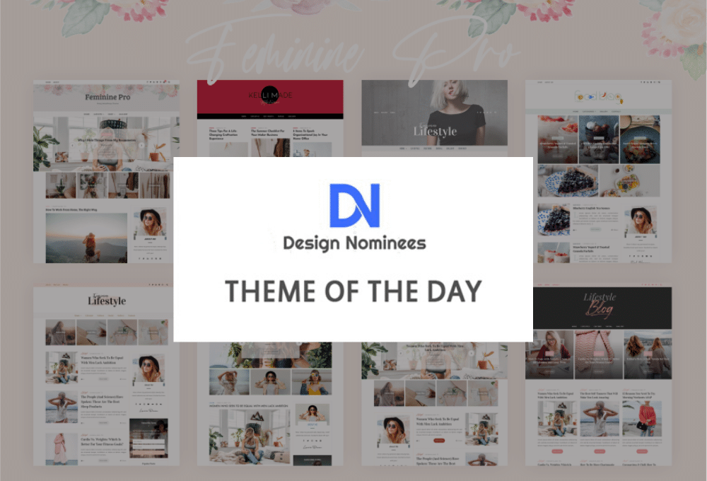 Theme Of The Day - Design Nominees