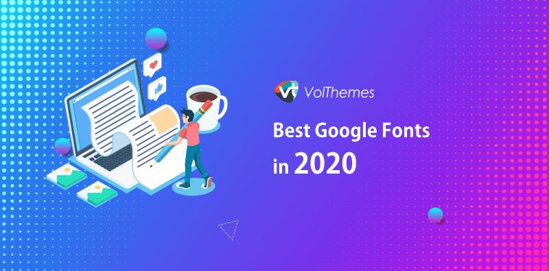 Best Google Fonts 2020
