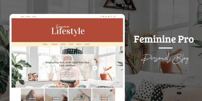 Feminine Pro WordPress Theme