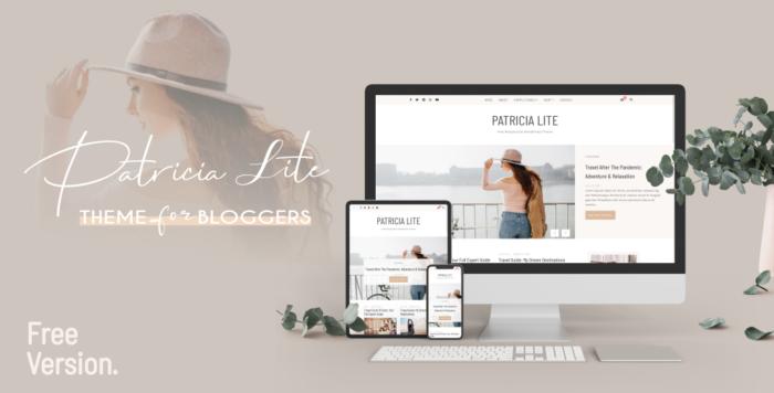 Patricia Lite WordPress Theme